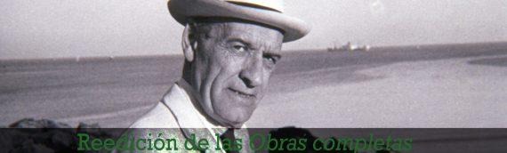 Reedición de las obras completas de José Ortega y Gasset